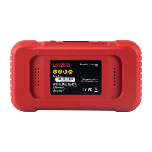 (Version française) LAUNCH X431 CRP123E OBD2 Code Reader Scanner support ENG ABS Airbag SRS Transmission mise à jour gratuite à vie