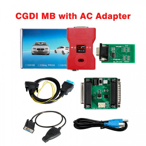 (11.11 venta) (UK Ship No Tax)CGDI Benz Prog plus CGDI MB AC Adapter Version française