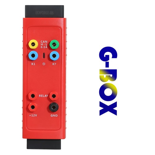(6% off 108.1€) AUTEL G-BOX Tool Mercedes Benz All Keys Lost A005 Work Together with Autel MaxiIM IM608