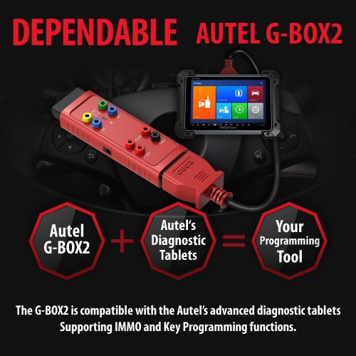 AUTEL G-BOX2 Tool for Mercedes Benz All Keys Lost Work with Autel MaxiIM IM608