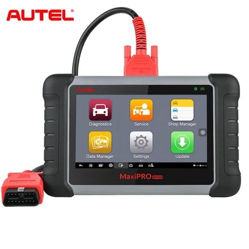 (Version francaise) Autel MaxiPro MP808K Diagnostic Tool MP808 OBD2 Scanner with Bi-Directional Control Key Coding (Same as DS808)