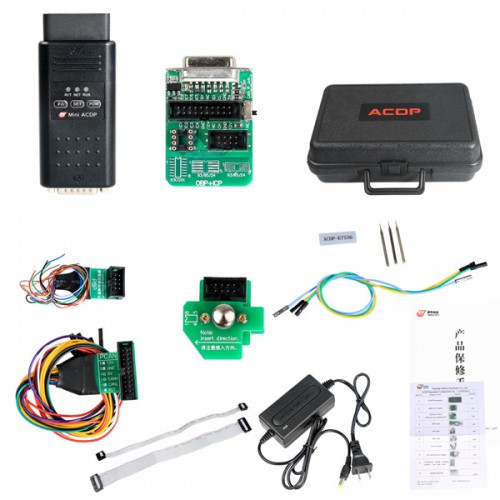 (618 Sale) Yanhua Mini ACDP Programming Master with Module1/2/3/4/7/8/11 BMW Full Package Total 7 Authorizations