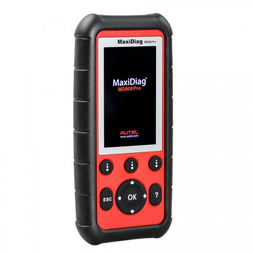 (7% Off 231.57€) Autel MaxiDiag MD808 Pro All System Scanner pour Oil and Battery Reset ,Parking Brake Pad Relearn,SAS,SRS,ABS,EPB,DPF,BMS