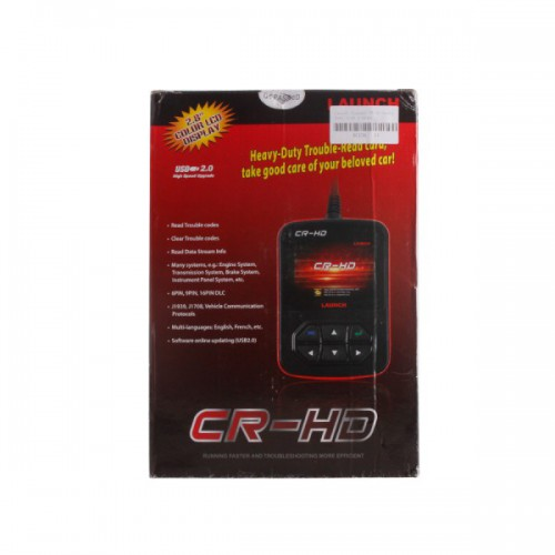 Launch Creader CR-HD Heavy Duty Code Scanner Mise à jour en ligne