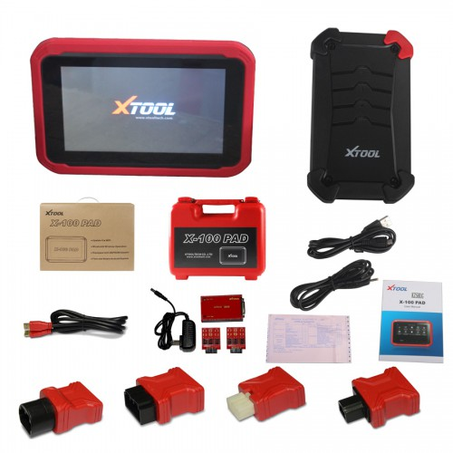 [Livraison UE sans taxe] Version Française XTOOL X-100 PAD X100 PAD Tablet Key Programmer with EEPROM Adapter 2 Ans Mise A Jour