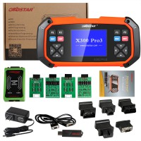 OBDSTAR X300 PRO3 Key Master with Immobiliser + Odometer Adjustment +EEPROM/PIC+OBDII