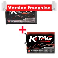 KESS V2 V5.017 avec PCB En Rouge Plus NEW Generation KTAG K-TAG Firmware 7.020 SW2.25 en ligne Version PCB Rouge