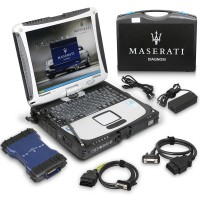 Version française Maserati MDVCI All System Diagnosis Tool Compatible with CF19 Computer Programming with Maintenance Data