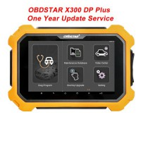 (Promotion) OBDSTAR X300 DP Plus C Version Full Package One Year Update Service