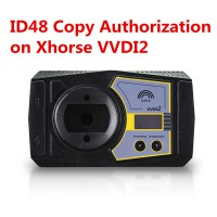 VVDI2 Authorization - Prepare Dealer Key by Ecu Data Copy 48 Transponder by OBDII