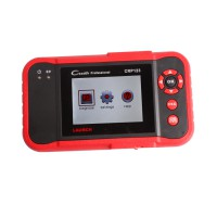 Version française Launch CReader CRP123 New Generation of Core Diagnostic Product