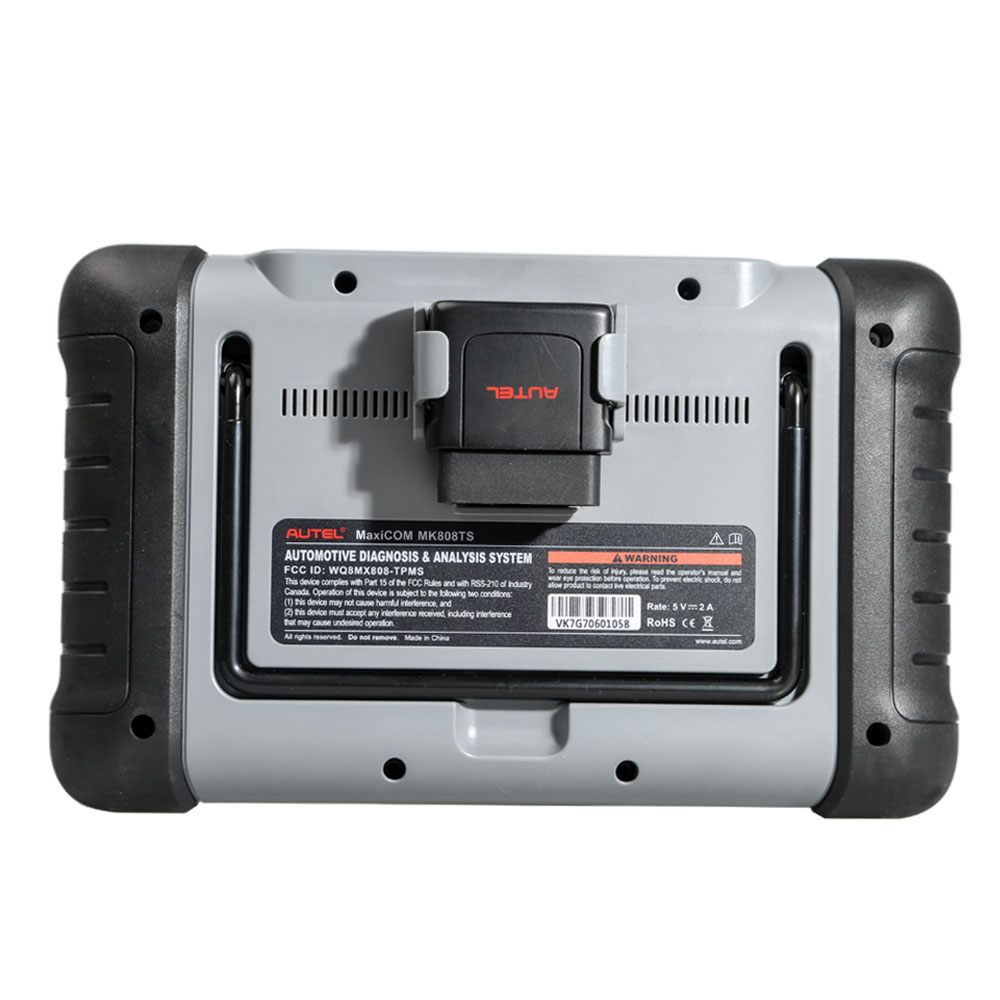 [Livraison gratuite] 100% Original Autel MaxiCOM MK808TS soutien OBDII Diagnostics and TPMS Check,Sensors Activation