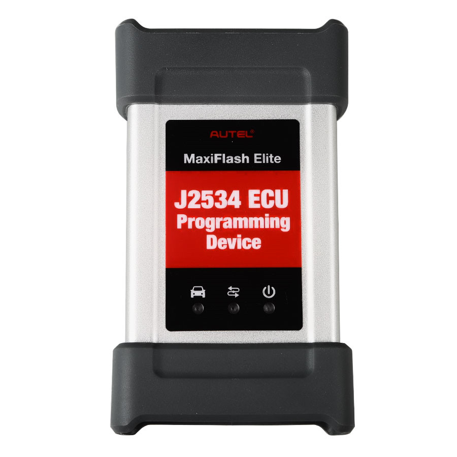Autel MaxiFlash Elite J2534 ECU Programming Device OEM SAE J2534 Passthru Interface Works with Maxisys 908/908P