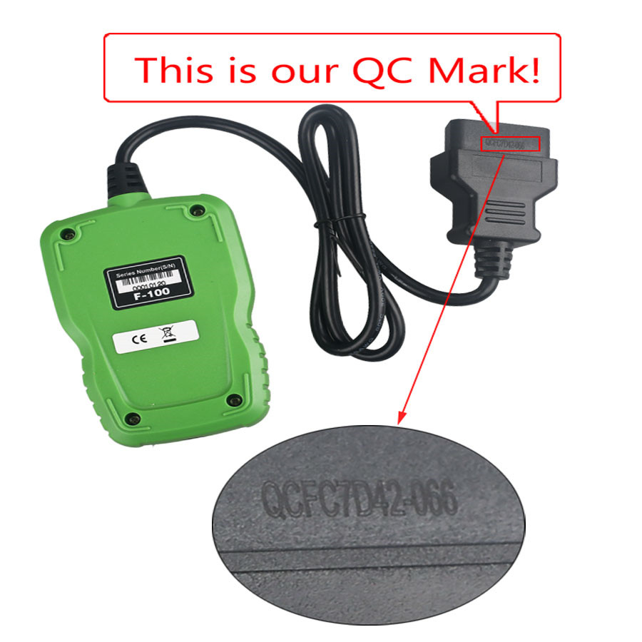 【Livraison UE sans taxe】OBDSTAR F-100 Mazda/Ford Auto Key Programmer No Need Pin Code Support New Models and Odometer