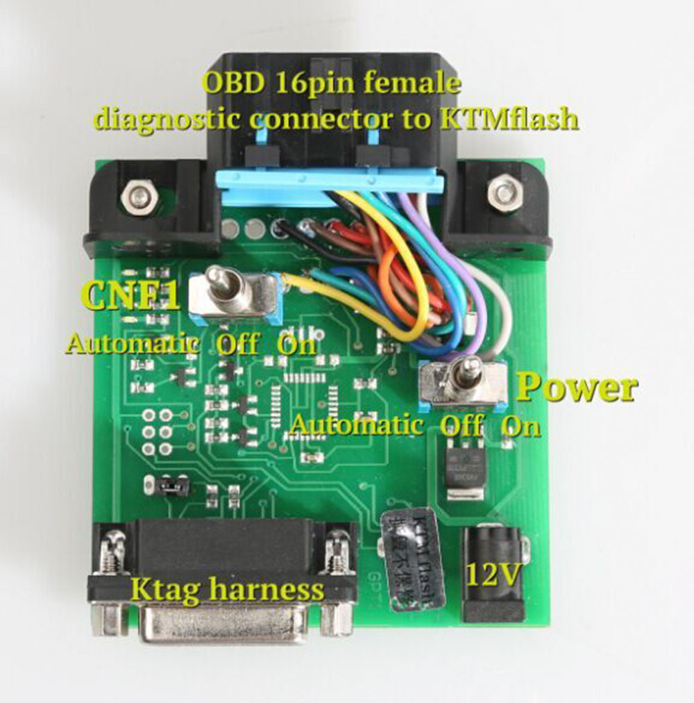 KTM FLASH KTMflash ECU Programmer Transmission Powerful Upgrade Tool Supporte V-A-G DQ200 DQ250 Infineon Bosch