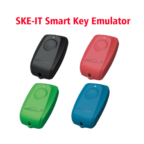 2017 Newest Lonsdor K518ISE Key Programmer Plus SKE-LT Smart Key Emulator Set