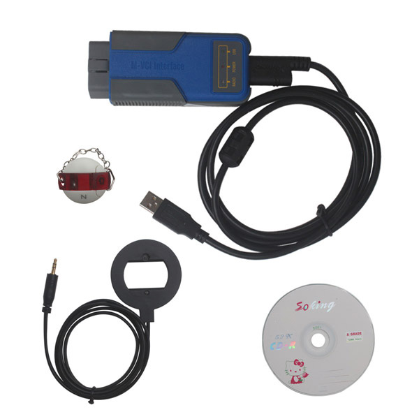 Lastest Multi Tool OBD2 CAS1-3+ Key Programmer for BMW V7.7