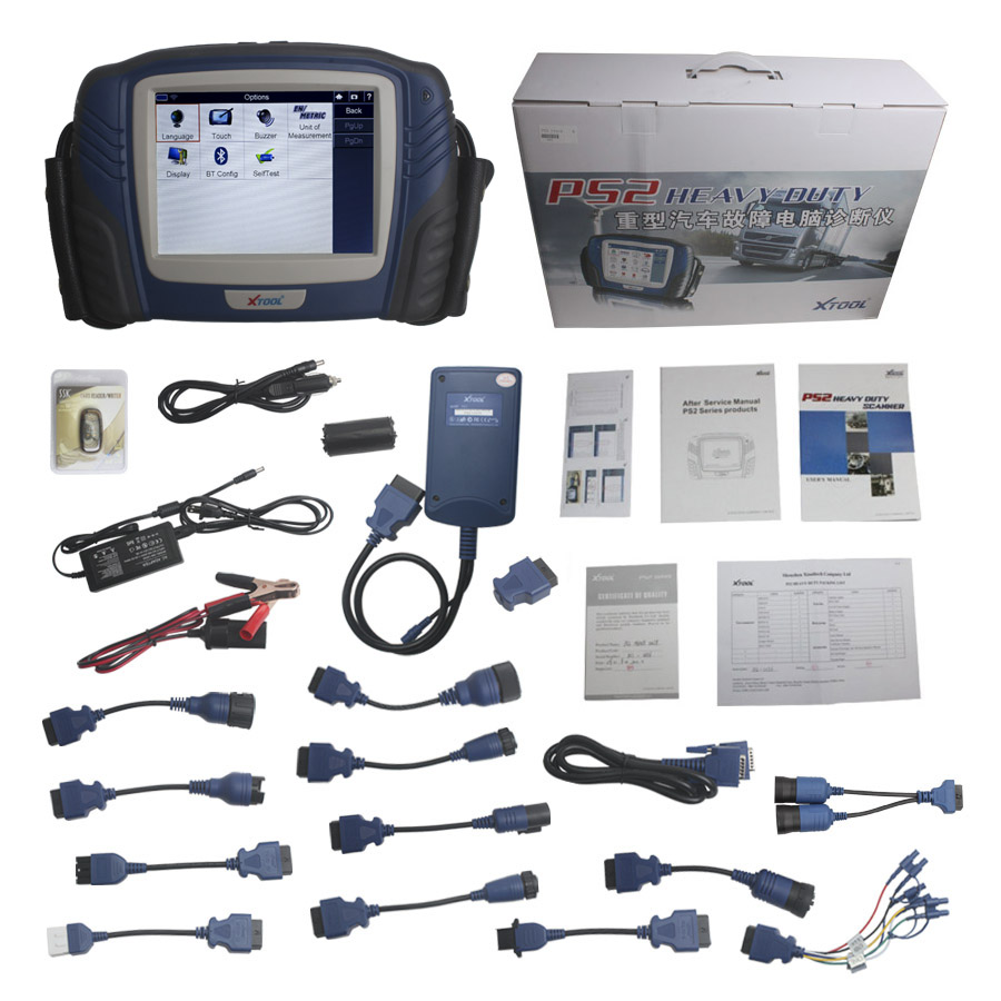 100% Original XTOOL PS2 HD Truck Professional Diagnostic Tool