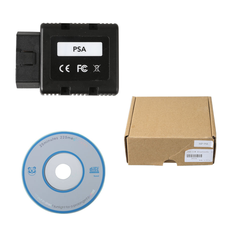 New PSA-COM PSACOM Bluetooth Diagnostic and Programming Tool for Peugeot/Citroen Replacement of Lexia-3 PP2000