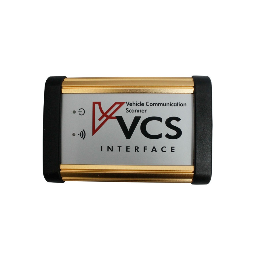 VCS Vehicle Communication Scanner Interface plus Full adapter set for VCS