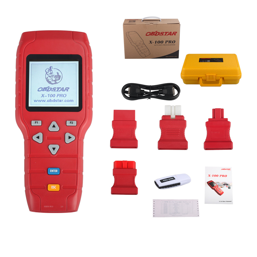 X-100 PRO Auto key programmer (C) Type Mise à jour en ligne for IMMO and OBD Software Function