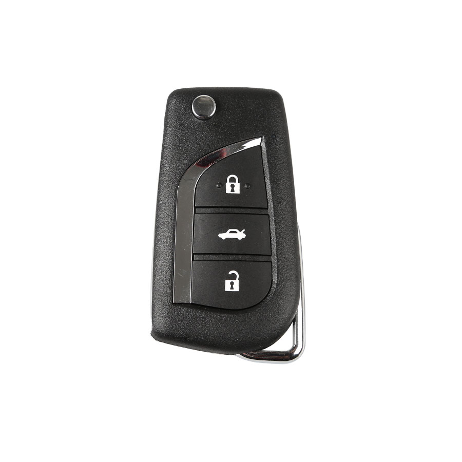 Xhorse Toyota Style Wireless Universal Remote Key 3 Buttons Enlgish for VVDI Key Tool 5pcs/lot