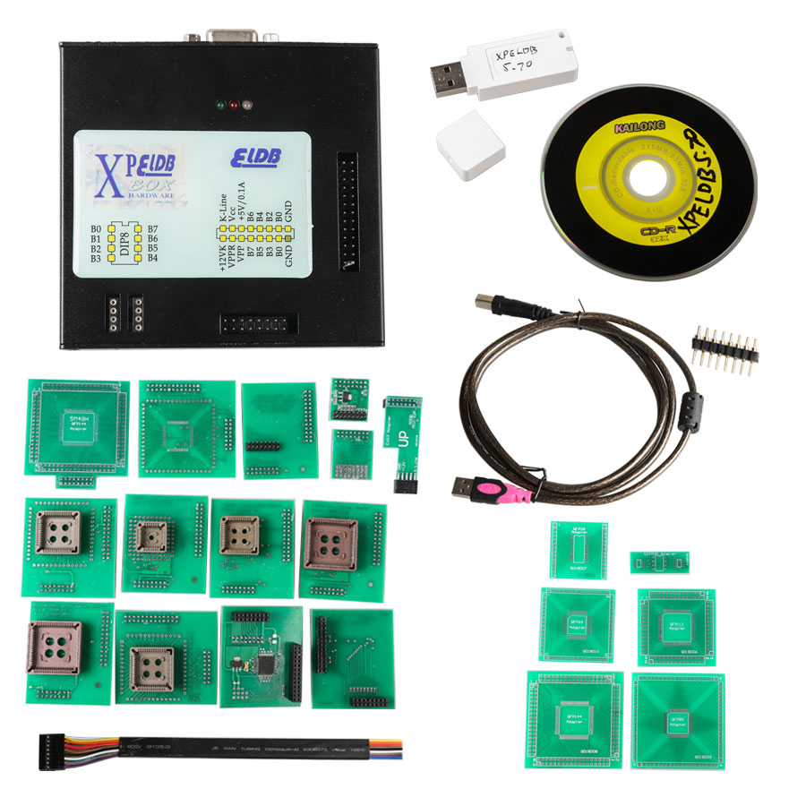 2017 XPROG-M V5.70 X-PROG Box ECU Programmer with USB Dongle Support BMW CAS4