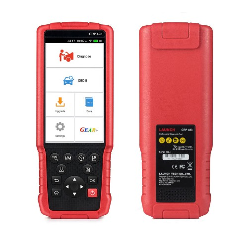 LAUNCH CRP423 Auto Diagnostic Tool OBD2 Code Reader Scanner support ENG ABS SRS AT Test CRP 423 1 Multi-language Update Online