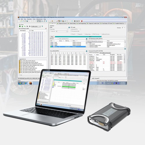 Nouvelle arrivee BENZ ECOM Support Diagnosis and Programming with DTS8.14 Dongle for Latest Mercedes Till 2019