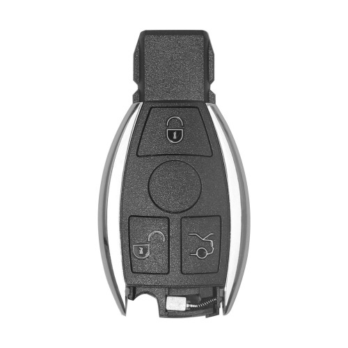 (Livraison UE) Smart Key Shell 3 Button for Mercedes Benz Assembling with VVDI BE Key Perfectly