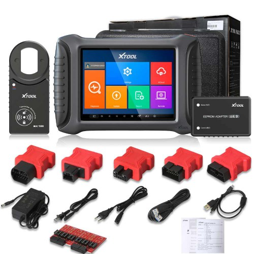 2020 XTOOL X100 PAD3 X100 PADIII Professional Tablet Key Programmer With KC100 No Vehicle Limitation