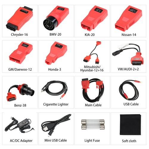 (Livraison UE) Autel MaxiCOM MK908 Diagnostic Tool Support ADAS/Oil Reset/ABS/TPMS/IMMO/DPF Upgraded Ver. of MS908 MS906 MK808