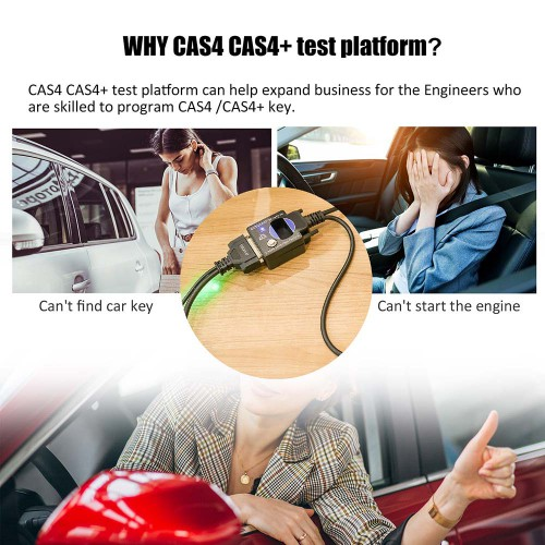(Livraison UE) GODIAG BMW CAS4 & CAS4+ Programming Test Platform Supporter All Key Lost/Add New Key