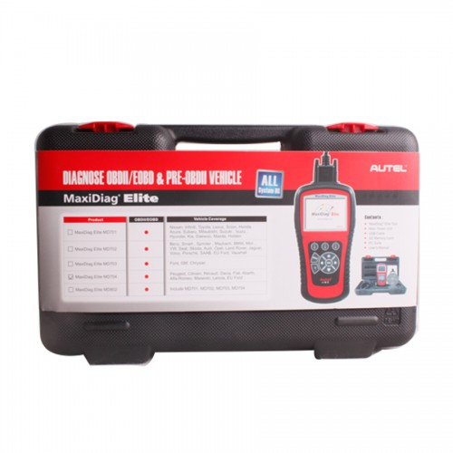 Autel Maxidiag Elite MD704 With Data Stream Function for All System Update Internet