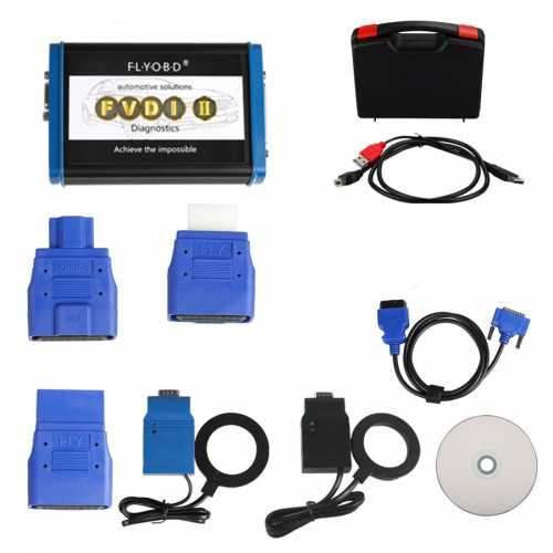 2016 FVDI2 ABRITES Commander for Ford Key Programming and Mileage Correction V4.9 With Software USB Dongle