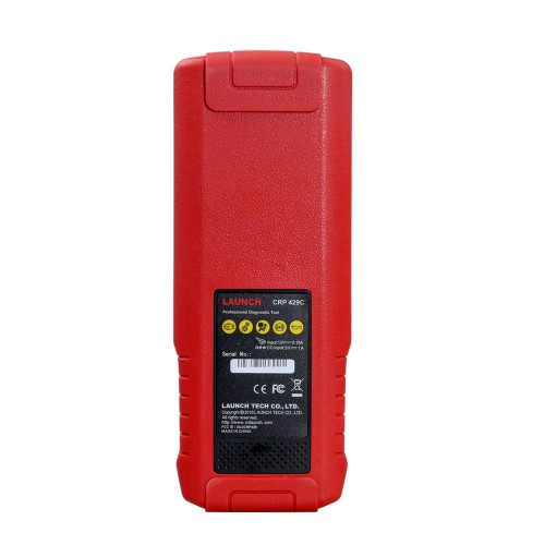 (Livraison UE) Francias LAUNCH X431 CRP429C Auto Diagnostic Tool for Engine/ABS/SRS/AT+11 Special Function PK CRP129
