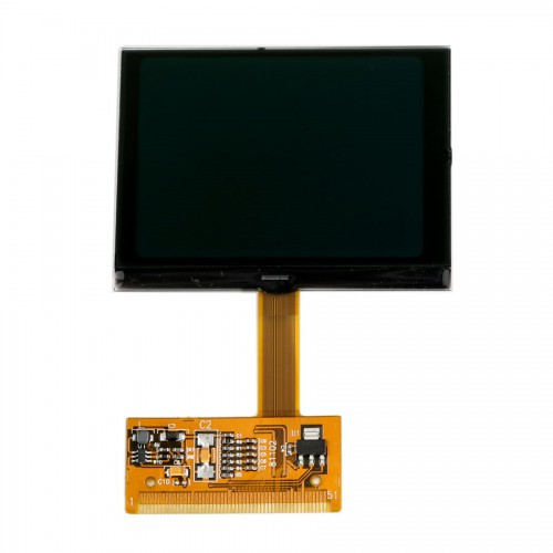 Newest version LCD Cluster Display - AUDI TT S3 A6 VW VDO OEM Jeager