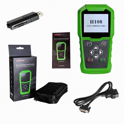 OBDSTAR H108 PSA Programmer Soutien All Key Lost Programming/Pin Code Reading/Cluster Calibrate pour Peugeot/Citroen/DS