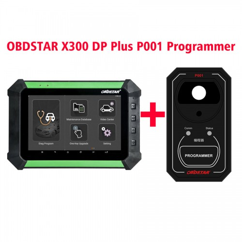 Version française OBDSTAR X300 DP/Key Master DP Standard Package Plus OBDSTAR P001 Multifunctional Programmer