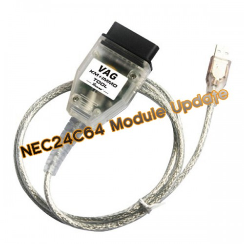 NEC24C64 Update Module for Micronas OBD TOOL (CDC32XX) V1.3.1 and V-A-G KM + IMMO TOOL