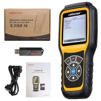 (11.11 Sale Gagne 32€) OBDSTAR X300M Special for Odometer Adjustment and OBDII