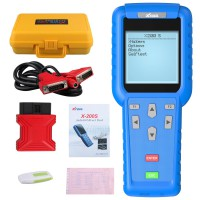 Xtool X-200 Oil Reset Tool Support the newest cars with CAN BUS and UDS