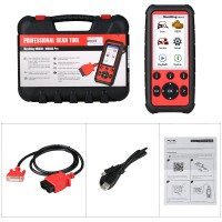 (Livraison UE) Autel MaxiDiag MD808 Pro All System Scanner pour Oil and Battery Reset ,Parking Brake Pad Relearn,SAS,SRS,ABS,EPB,DPF,BMS