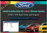 Ford IDS V119.01 Full Software for Ford VCM II Support Online Programming Update to 2018