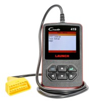 Launch DIY Scanner CReader 419 OBDII/EOBD Auto Diagnostic Scan Tool Code Reader