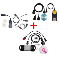 Lexia-3 PP2000 V48 plus V2016-I Multidiag Access J2534 and Can Clip V183 for Renault
