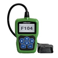 OBDSTAR F104(Chrysler, Jeep, Dodge) Support Mileage Adjustment,Pin Code Reading and Key Programming Till Year 2016
