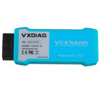 WIFI version VXDIAG VCX NANO for TOYOTA TIS Techstream V14.00.018 Compatible with SAE J2534