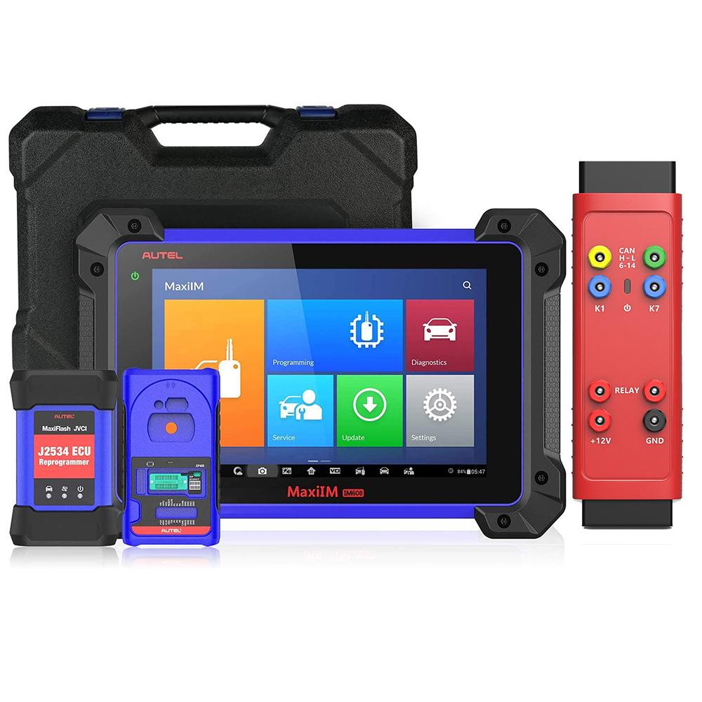 Autel MaxiIM IM608 Advanced Diagnose + IMMO & Key Programming Scanner Plus  Autel G-BOX2 Adapter
