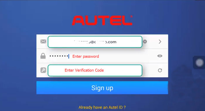 register autel maxiim